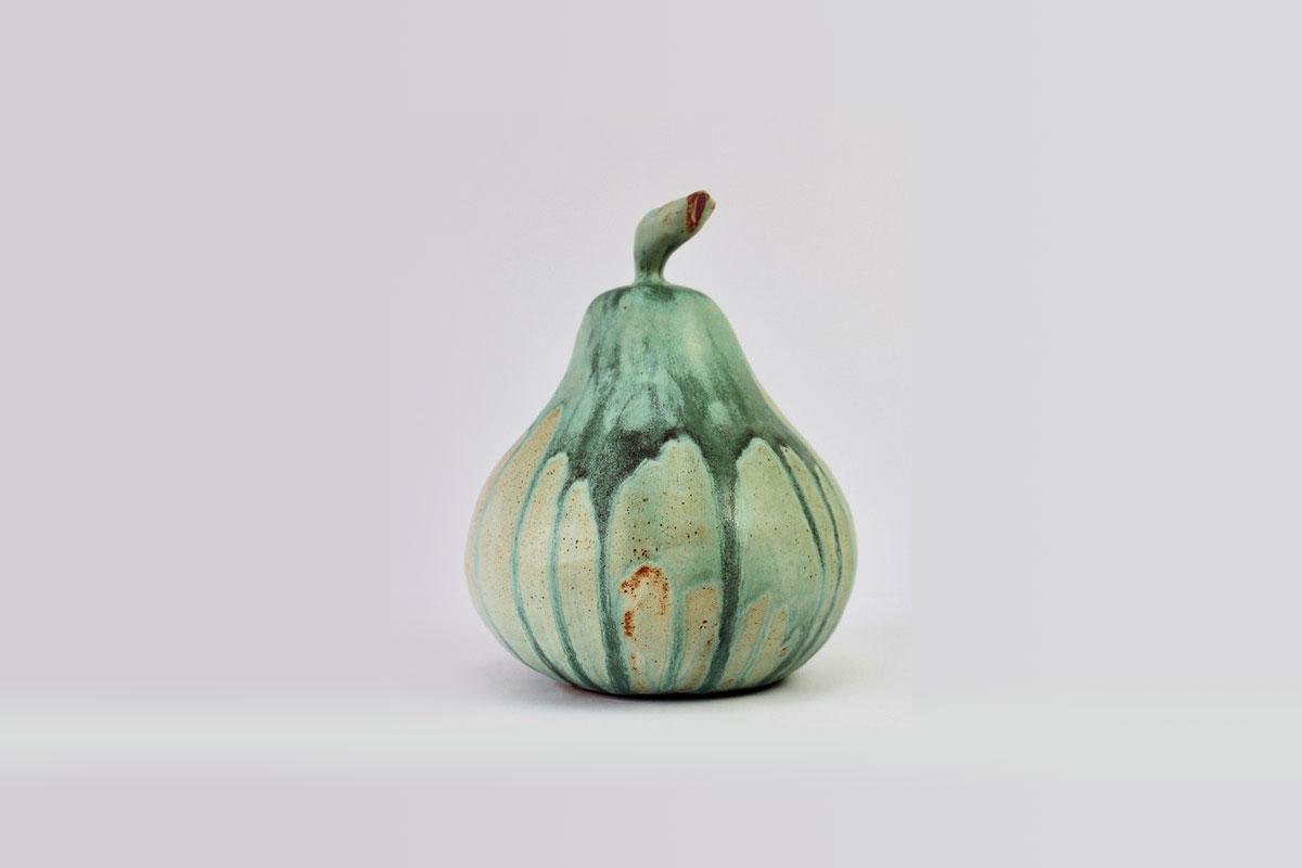 large ceramic pear 3